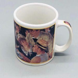 Cafe Arts Renoin mug white Henriksen Imports 4″ ge